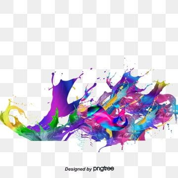 Colorful Splash Effect Colorful Splash Effect Color Png Transparent Clipart Image And Psd File For Free Download Di 2020