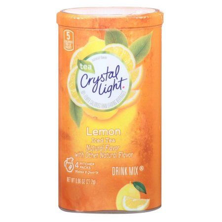 Crystal Light Lemon Iced Tea Natural Flavor Gluten Free 0 96 Oz Pk Of 3 Check Out The Image By Visiting Iced Tea Drinks Crystal Light Drinks Peach Ice Tea
