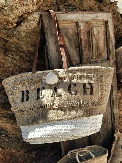 Las Cositas de Beach & eau: PETITE MANUELA..................................algunos de los cestos de su nueva colección.........................