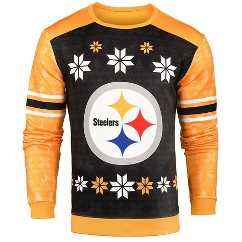 Forever Collectibles NFL Men s Pittsburgh Steelers Printed Ugly Sweater ef1f67742