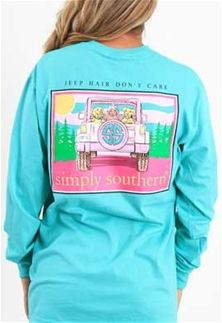 0c7c28a8 Simply+Southern+Preppy+Collection+Jeep+Hair+Don't+Care+Long+Sleeve+T-shirt +for+Women+in+Aruba+LS-DONT-ARUBA