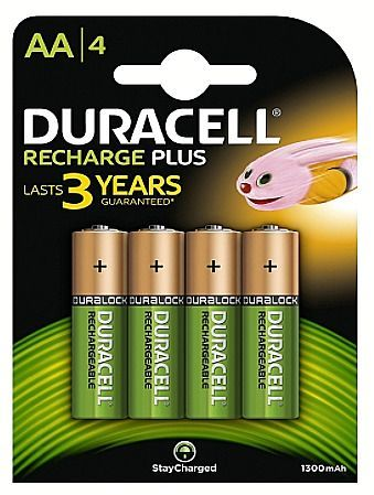 Duracell Aaa Rechargeable Batteries Ebay