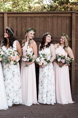 Romantic Possibilities White Floral Print Maxi Dress In 2020 Floral Bridesmaid Dresses Wedding Bridesmaid Dresses Bridesmaid Dresses