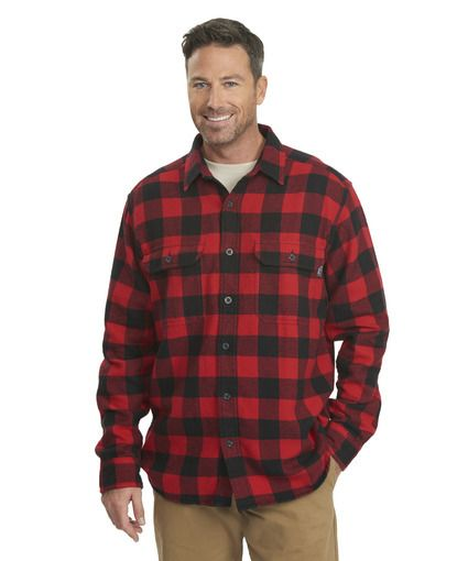 5074f044c Men's Oxbow Bend Plaid Flannel Shirt Old Red Buffalo by WOOLRICH® The  Original Outdoor Clothing Company