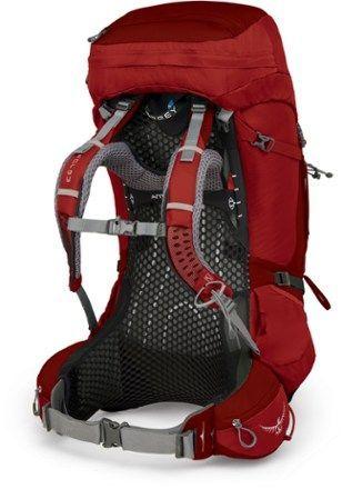 Osprey Atmos Ag 65 Pack Men S Rei Co Op Osprey Men S Atmos Ag 65 Pack Rigby Red S Atmos Backpackingfood Backpa In 2020 Osprey Atmos Osprey Packs Backpacks