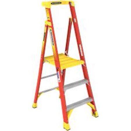Home Improvement Ladder Platform Ladder Werner Ladders