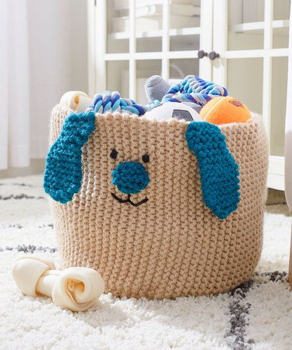 Puppy Toy Basket Dog Toy Basket Toy Basket Toy Puppies