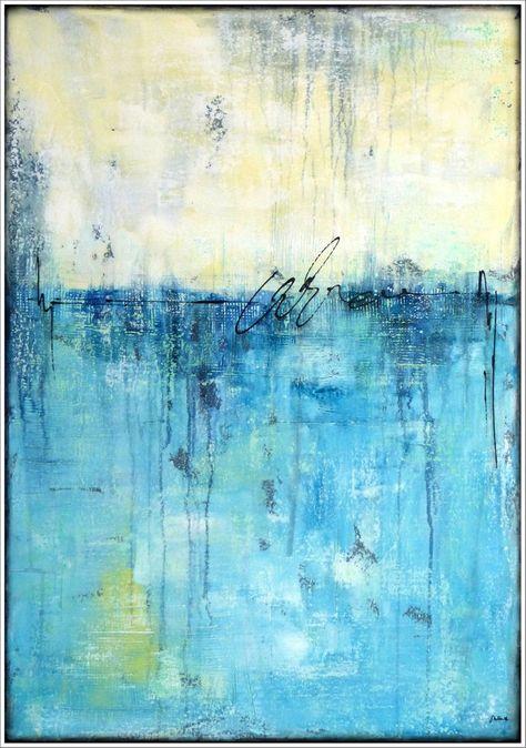 Stella Hettner Original Abstrakt Gemalde Handgemalt Acrylmalerei