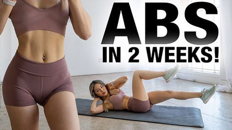 Chloe Ting - 2 Weeks Shred Challenge - Free Workout Program in 2020 | Ab workout challenge, Free workout programs, Abs workout