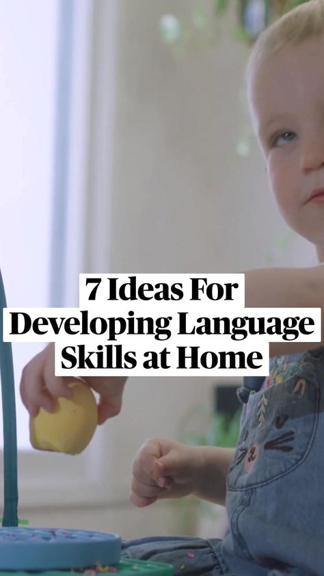 7 Ideas For Developing Language Skills at Home