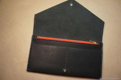 cb2cfb830b99 Купить или заказать :Женский кошелек из натуральной кожи в интернет магазине  на Ярмарке Мастеров.