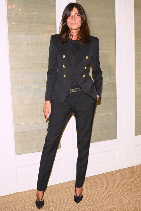 Spring/Summer 2014 Fashion Week – Celebrity Photos (Glamour.com UK)