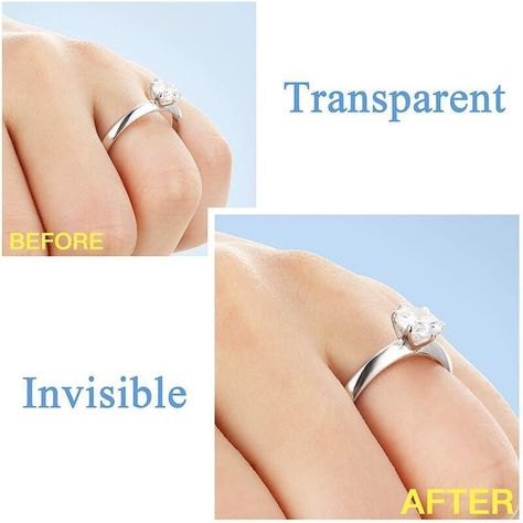 💍 The Ring Re-sizer prevents the ring from sliding off your finger, saving your valuable rings 💍
