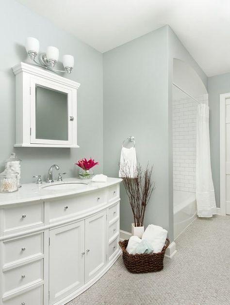 Boothbay Gray By Benjamin Moore Best Bathroom Paint Colors Small Bathroom Paint Popular Bathroom Colors
