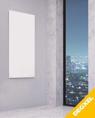 Radiateur Electrique Extra Plat Blanc 310w Vertical 30 Cm X 90