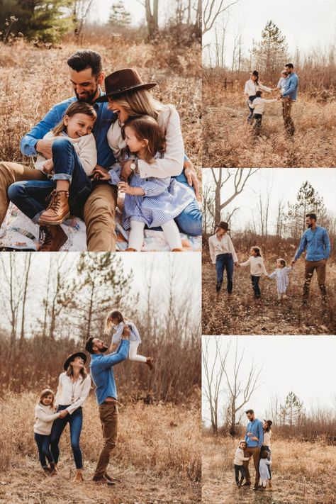 Fall Family Picture Outfits, Cute Family Photos, Outdoor Family Photos, Family Picture Poses, Fall Family Pictures, Family Photo Sessions, Family Photo Shoots, Family Photoshoot Ideas, Family Pictures Outside