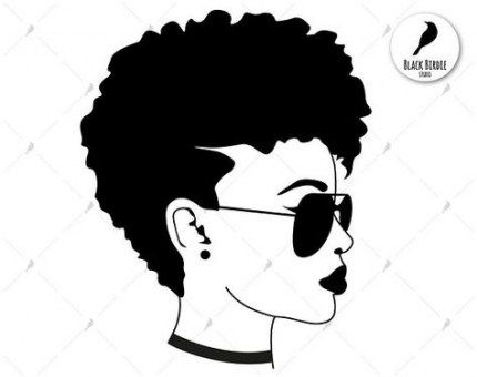 Glasses Black Women Shirts 16 Ideas Black Woman Silhouette Black Silhouette Black Women