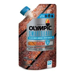 Olympic Maximum 5 Gal Clear Exterior Waterproofing Sealant 57500a 05 How To Clean Rust Clean Rust Stains Surface Spray