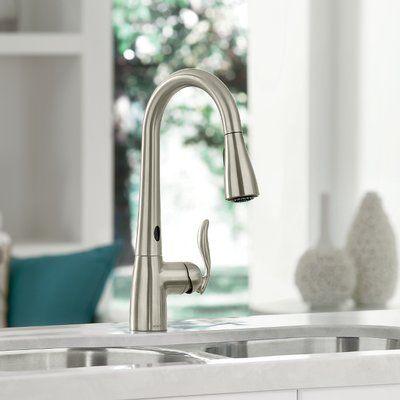 Moen Arbor Touchless Single Handle Kitchen Faucet Kitchen Sink
