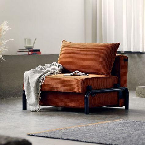 ufficio o soggiorno,Blue Tessuto moderno stile minimalista poltrona 1 posti divano letto adatto per come la camera da letto