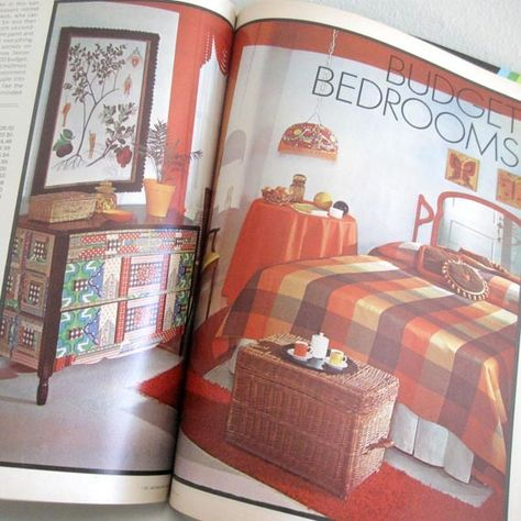 Vintage Home Decor Magazine 1970s 1001 Decorating Ideas By Ismoyo 7 50