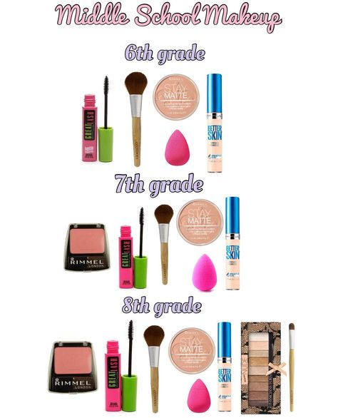 6th 7th & 8th grade makeup   Beauty   Pinterest   Maquillage, Maquillage Simple and Coiffure et beauté