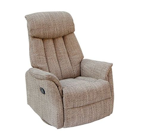 The Ravello Rock And Swivel Recliner Chair In Harvest Fabric