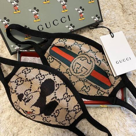Gucci mask strap
