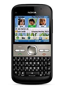 Nokia E5-00 Unlocked GSM Phone with Easy E-mail Setup, IM