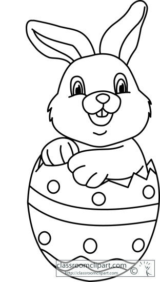 28++ Easter bunny clipart outline information