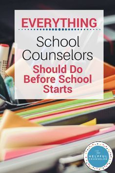 20 Things School Counselors Should Do Before School Starts 20 Things School Counselors Should Do Before School Starts <br> School Counselors: Complete these steps at the beginning of the school year to set your counseling program up a successful year. School Counselor Organization, School Counselor Office, School Guidance Counselor, Middle School Counseling, Elementary School Counselor, Counseling Office Decor, Elementary Schools, College Counseling, Primary School Counselling