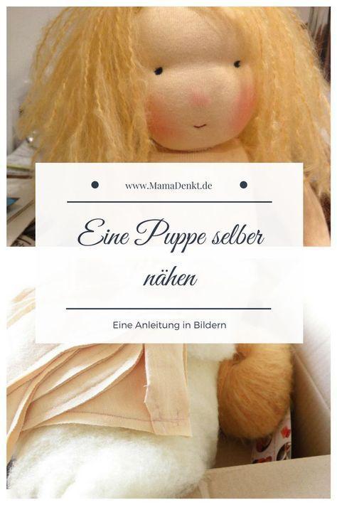 Mariengold Eine Puppe Selber Machen Mamadenkt De Puppe Nahen Puppen Puppen Selber Machen