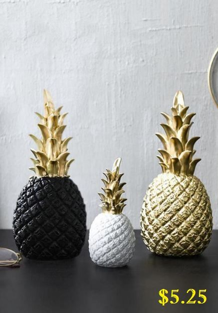 Golden Pineapple Home Decor Affordable Home Decor Nordic Style Home Nordic Modern