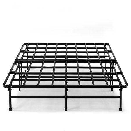 Best Price Mattress Titan 14 Inch Metal Quickbase Platform Bed