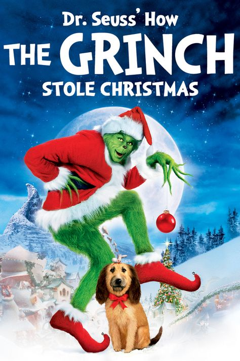 How The Grinch Stole Christmas Jim Carrey.Dr Seuss How The Grinch Stole Christmas Movie Poster Jim