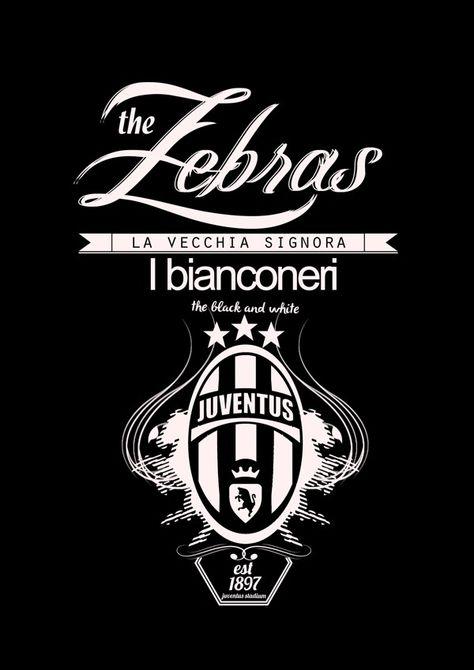 Https Www Behance Net Gallery 13508131 Football Team Typography Football Team Juventus Juventus Wallpapers