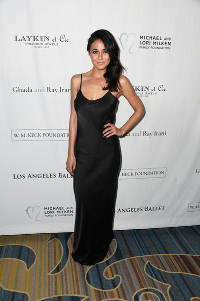 Emmanuelle Chriqui attends the 12th Annual Los Angeles Ballet Gala at the Beverly Wilshire Four Seasons Hotel.