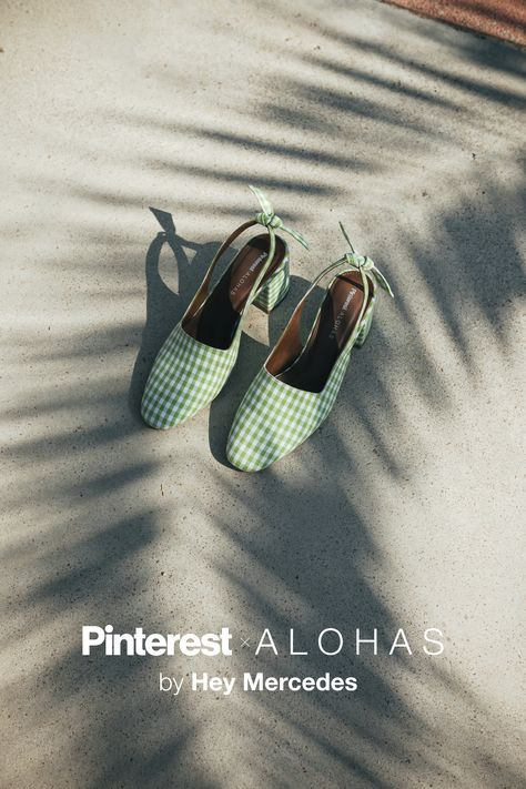 Excited to announce my collaboration with Pinterest x ALOHAS. This new capsule collection carries one of my very own shoe designs! Inspired by the spring summer trends that are coming in strong this year. Visit @alohas to shop my creation for you!
