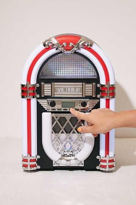 Victrola Desktop Bluetooth Jukebox | room! | Jukebox