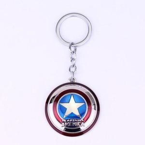 Movie Marvel Black Panther Men Necklace Wakanda T Challa Same Pendant Necklaces Intothea Intothea Captain America Shield Metal Marvels Keychain