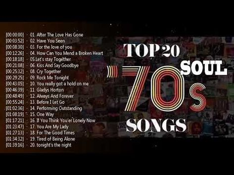 Top 20 Soul Songs Of The 70s Greatest Soul Music Of All Time