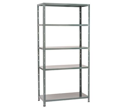 Estantería Metálica Spaceo 90x187x40cm Sewing Room Decor Ladder Bookcase