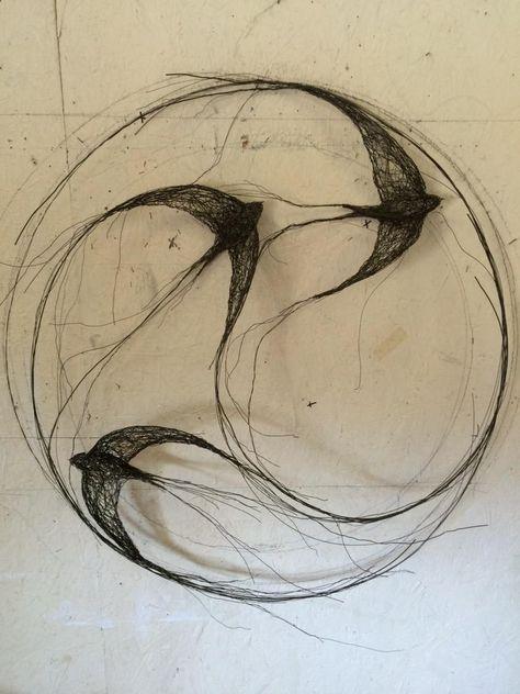 Circle of swifts www.celia-smith.co.uk
