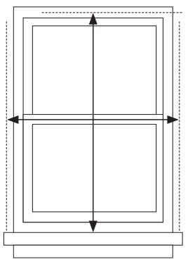 Measuring Outside Mount Diagram Bed Bath And Beyond Window Roller Shades Window Coverings