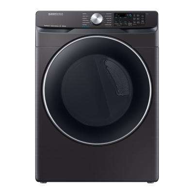 Samsung 7 5 Cu Ft Fingerprint Resistant Black Stainless Electric