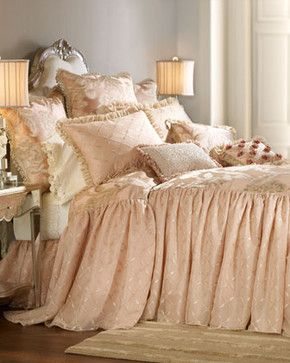 """Sweet Dreams-""""Whisper"""" Bed Linens - traditional - bedding - Neiman Marcus"""