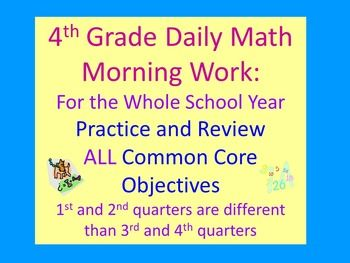 List Of Pinterest Morning Work 5th Daily Math Images Morning Work