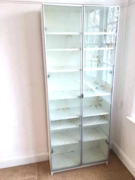 White Bookshelf With Glass Doors Https Www Otoseriilan Com In