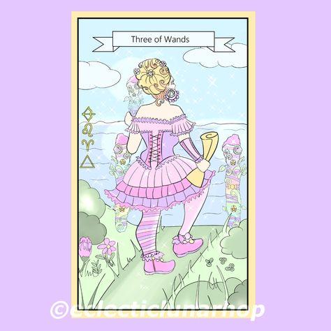 #tarot #witchesofinstagram #witchcraft #ecleticwitch #witch #magick #tarotfanatic #tarotreadersofinstagram #tarottribe #tarotwisdom #tarotreading #tarotcards #tarotcommunity #pagan #pagansofinstagram  #tarotdeck #tarotcard #threeofwandstarotcard #threeofwandstarot #tarotlesson #tarotguidance #digitalart #illustration #learntarot #digitalillustration #tarotcommunity #tarotsketch #tarotdrawing #tarottips #tarotista #divination #solitarywitch