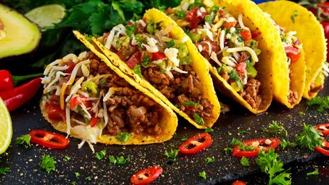 Taco Shells with Ground Beef Recipe MAN'S BLACK BOOK